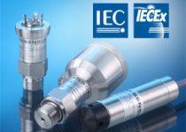 BD Sensorsin IECEx-luokitellut paineanturit ja painelähettimet