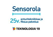 Teknologia -19 tapahtuma – Sensorola 25 vuotta anturitekniikkaa ja fiksua palvelua